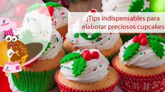 ¡Tips indispensables para elaborar preciosos cupcakes!